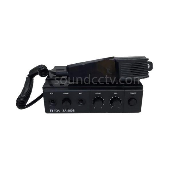 Jual Amplifier TOA Mobil ZA-250S (25 Watt) : soundcctv.com
