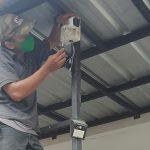Pemasangan CCTV di Banjar Village