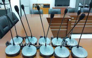 Pemasangan Mic Conference di Gedung DPRD siap pasang