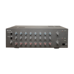 TOA PA Amplifier ZA-2128M