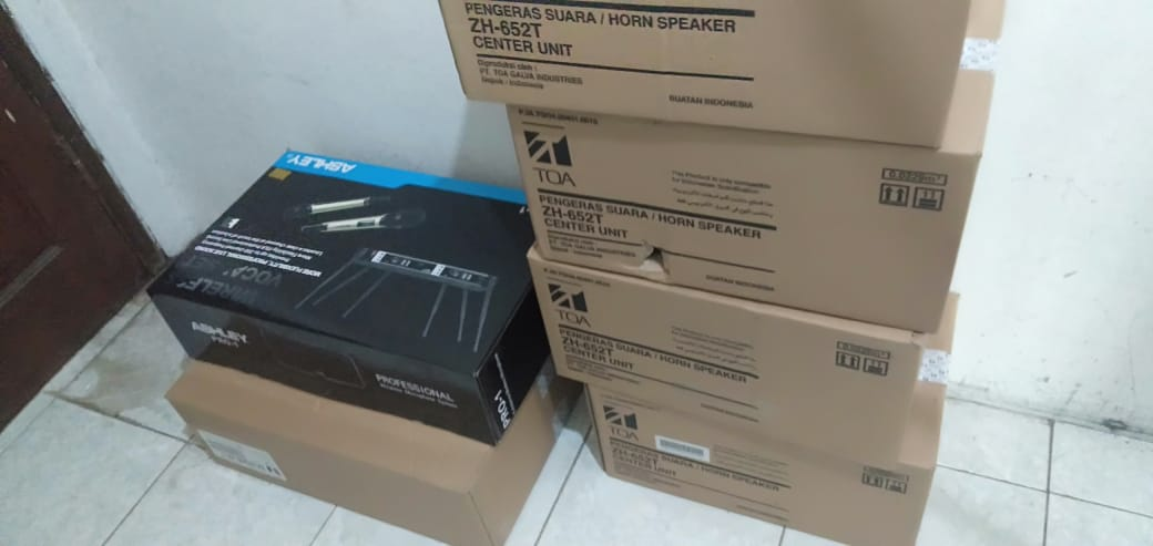 Paket Lengkap Jasa Pemasangan Sound System TOA Masjid