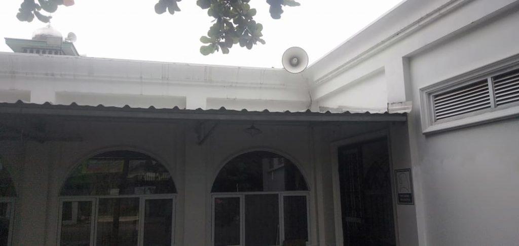 Masjid Darussalam Perumahan Jatijajar Corong Speaker