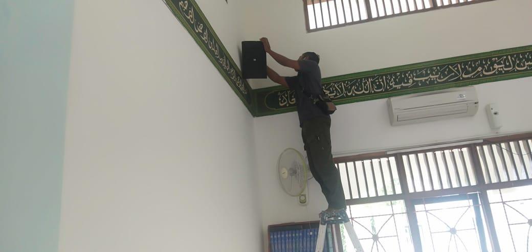 Jasa Pemasangan Sound System TOA Masjid Speaker F2000BM